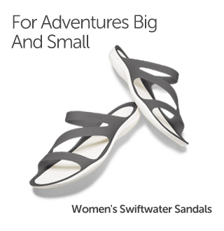 For Adventures Big And Small. Women's Swiftwater Sandals.
