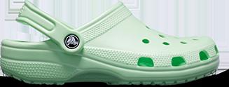 Crocs Classic Clog in New Mint