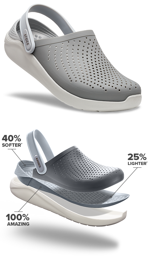 hot-selling discount wholesale online highly coveted range of The New Literide™ Collection From Crocs
