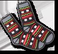Winter Socks Jibbitz.