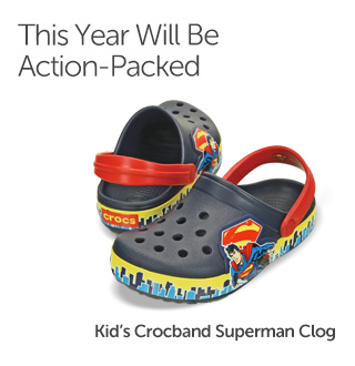 This Year Will Be Action-Packed. Boys' Clogs.