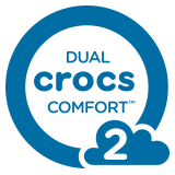Dual Crocs Comfort™ – Level 2.