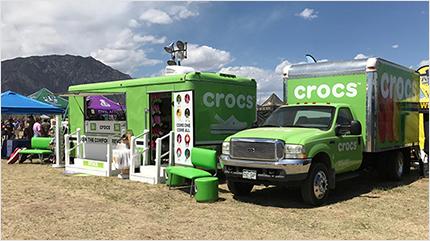 Crocs Mobile Store