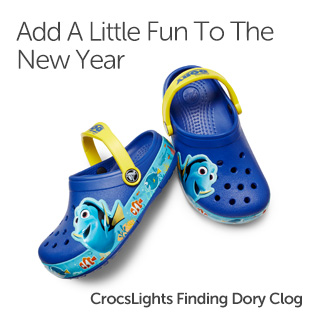 Add A Little Fun To The New Year. Girls' Clogs.