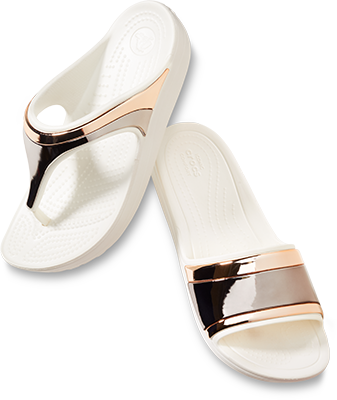 Women's Sloane Metal Block Slide & Women's Sloane Metal Flip
