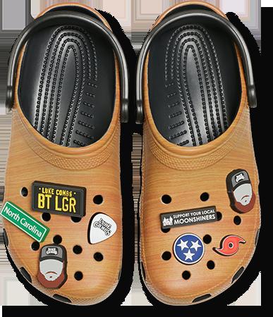 Luke Combs X Crocs Collaboration Luke Combs Shoes Crocs