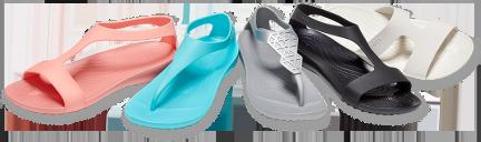Women's Crocs Serena Embellished Flip, Women's Crocs Serena Slide, Women's Crocs Serena Sandal