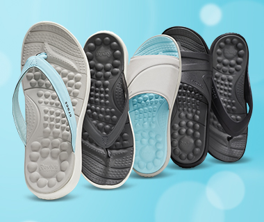 Revitalize with the bliss-inducing bubbles of the Crocs Reviva™ Collection. c8ab01a199f