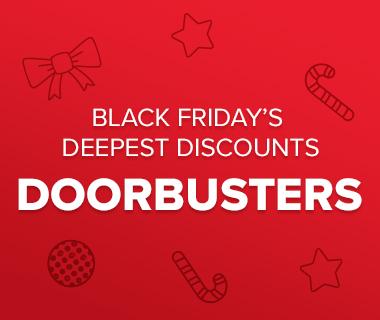 Black Fridays Deepest Discount: Doorbusters