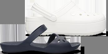 Bayaband Graphic II Clog & Women's Crocs Kelli Sandal.