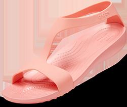 Women's Crocs Serena Sandal, Melon