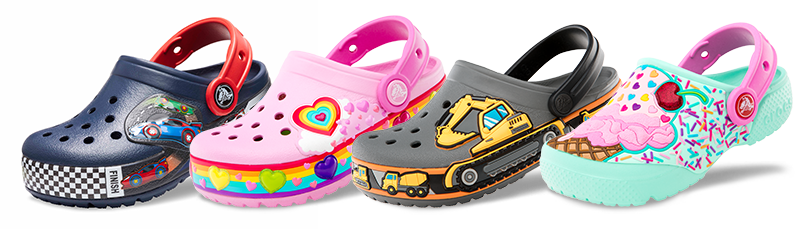 Kids Cartoon Character Shoes Funlab Collection Crocs - Toddler-cartoon-characters