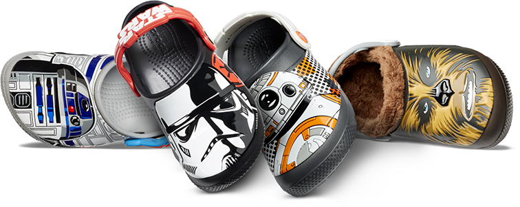 3893d194d36069 Star Wars Shoes and Clogs - Crocs